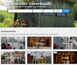 Shareconomy: Finde eine Unterkunft mit Airbnb - Screenshot