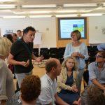 Diskussion bei der Zukunftswerkstatt über die weitere Stadtentwicklung (CC) Markus Neuhaus - Smart City Ebreichsdorf