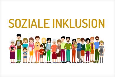 Logo des Projekts Soziale Inklusion