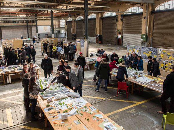 Workshops für die Arealentwicklung Neugasse Zürich © SBB IMMOBILIEN