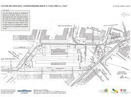 GLEISPLAN GERSTHOF, STRASSENBAHNLINIEN 9, 41(A) UND E2, 1924 © Archiv Wiener Linien