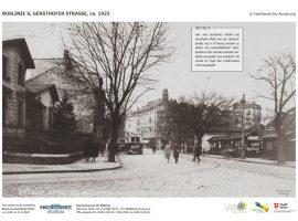 BUSLINIE 6, GERSTHOFER STRASSE, ca. 1925 © Familienarchiv Aussprung