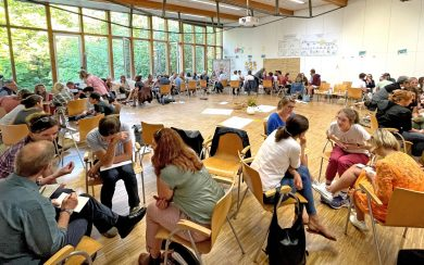 Methodentraining Dialogrunden (C) Büro für Freiwilliges Engagement und Beteiligung
